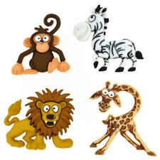 Boutons Dress It Up - Silly Safari : Animaux de Safari