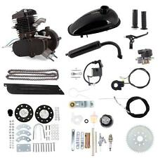 80cc 2-Stroke Motor Engine Kit Gas for Motorized Bicycle Bike Black BLK