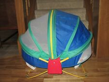 Fisher-Price Bounce 'n Play Activity Dome Enclosed Portable Outdoor Bassinet