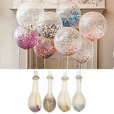 20PCS Colorful Confetti Balloon Birthday Wedding Party Decor Helium Balloons 12