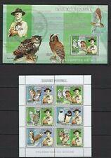 CONGO 2006 CELEBR DU MONDE BADEN POWEL OWLS FONDAT SCOUTISME BIRD VOGEL AVES MNH