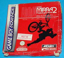Dave Mirra Freestyle BMX 2 - Game Boy Advance GBA Nintendo - PAL