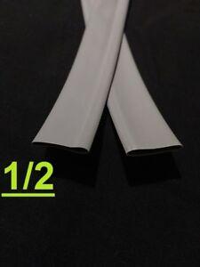 "1/2"" inch 12.7mm  SLATE GRAY  2:1 heat shrink tubing polyolefin (1 FOOT)"