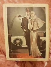 Dunlop Distinction 1933 Advertisement
