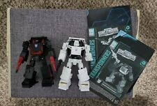 Transformers Earthrise War For Cybertron Runabout & Runamuck set of 2