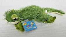 Retired Full Size Webkinz ~Gecko~ Green Ganz Hm186 New With Unused Tags & Code!