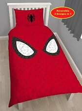 Marvel Spiderman 'réflexe' Set Housse de couette Simple 2 in 1