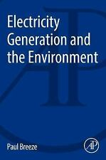 Electricity Generation and the Environment (Paperback or Softback)