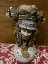 Emmitt Kelly Miniature Statue. Clown On A Ball