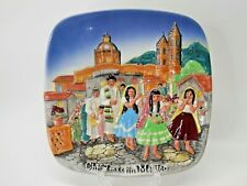 Royal Doulton John Beswick Ltd Christmas Around the World Plate Mexico - 1973