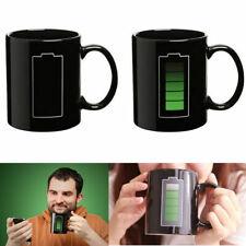 Magic Battery Coffee Tea Milk Hot Cold Heat Sensitive Color-Changing Mug Cup