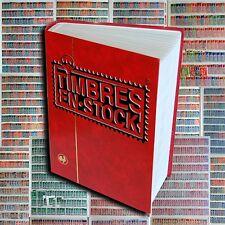 !!! STOCK JUMBO : 60 PAGES REMPLIES DE TIMBRES DE FRANCE !!!