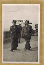 Carte Photo RPPC Marseille soldats ascenseurs Notre Dame de la Garde ph271