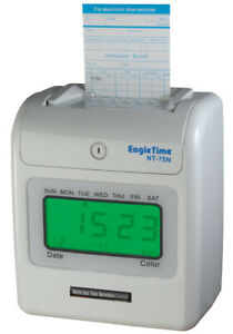 Staff Clocking In Machine - Save your business both Time & Money..