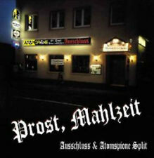 ATOMSPIONE / AUSSCHLUSS Prost, Mahlzeit Split 10inch LP (2001 Katakomben) Neu!