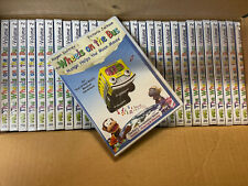 LOT OF 30 DVD The Wheels on the Bus: Mango Helps the Moon Mouse DVD Vol 2