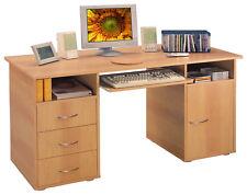 Schreibtisch Sara mit Tastaturauszug Spanplatte (besch.) 72x60x140cm