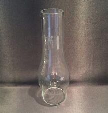 """Glass Oil Lamp Chimney - Bulge Comet 73mm / 2 7/8inch base diameter. - 10"""" Tall"""