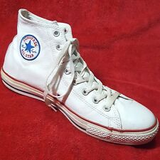 Converse White Genuine Leather Chucks 12 LEFT SHOE ONLY Vintage Chuck Taylor