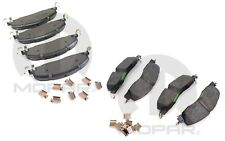 For RAM 2500 2009-2018 Front & Rear Brake Pad Set MOPAR OEM
