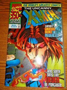 Uncanny X-men #350 Holofoil Cover Key Gambit Trial Origin 1st Print Marvel