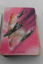 WELLINGTON BOMBER  VINTAGE PLAYING CARDS (WADDINGTONS)