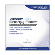 Transdermal Vitamin B12 Patches - 5000mcg Methylcobalamin with Essential Vitamin