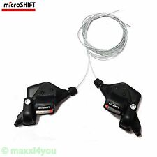 01080215 microSHIFT MTB-Schalthebel MARVO XE 3 x 9 Gang Fahrradschaltung