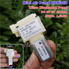 DC 5V 6V Mini Air Pump Oxygen Pump Diaphragm Pump DIY Aquarium Sphygmomanometer