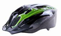 VENTURA MAMBA Casco per bicicletta verde / NERO TAGLIA L 58-61cm NUOVO 731037