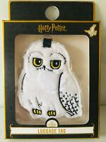 Harry Potter Eule Hedwig Plüsch Kofferanhänger Gepäckanhänger Adressschild Reise