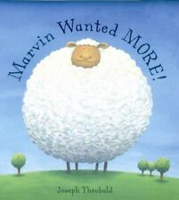 Marvin Wanted More - New Book Theobald, Joseph