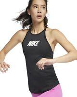 Nike Damen Fitness Tank Shirt W NK TR SPRT DSTRT Tanktop schwarz AR4373 010