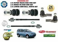 Pour Honda Hrv Hr-V 1.6 1999> 2 X Intérieur + 2 X Extérieur Biellette Extrémités