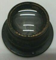Antique Bausch & Lomb Optical Co. Tessar Brass Lens 2 1/2 x 3 1/2 f4.5