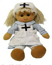 Powell Craft Rag Doll - Nurse - Great roll play toy - Lovely Gift for children