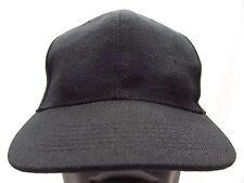 Negro - Pequeño Tamaño Ajustado Gorra Sombrero