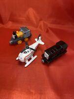 Thomas And Friends Adventures   Diesel Harold Dash  Trains Metal Bundle Free P&p