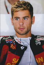 Signed 12x8 Photo Alvaro BAUTISTA Moto GP HONDA SAN CARLO Autograph AFTAL COA