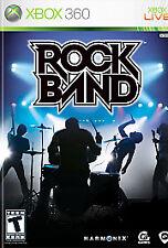 Rock Band  (Xbox 360, 2007)