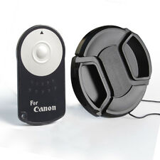 IR Wireless Remote RC-6 shutter for Canon EOS T1i/500D/T2i/550+58mm Lens Cap