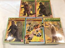 Bandai Candy Toys Hyper Godzilla 2002, completed Set Of 5 Pieces