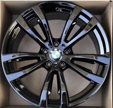 BMW X5 X6 20 REAR 2014 2015 2016 2017 FACTORY OEM RIM WHEEL BLACK 86058