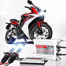 GENSSI HID Xenon Slim Conversion Kit Bulbs Motorcycle 55W 6000K (H11 Lamp Set)