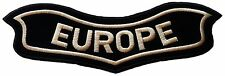 LARGE HARLEY DAVIDSON PATCH UNDER EAGLE HOG – EUROPE - MADE IN CHENILLE BIKERS
