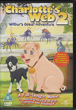 Charlotte's Web 2 (2003) animated film - Julia Duffy R2 & R4 DVD