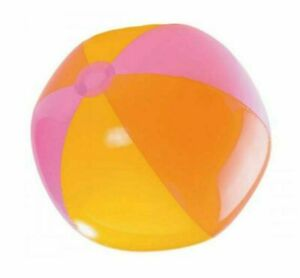 Inflatable Blowup Panel Beach Ball 60cm Holiday Party Swimming Garden Toy