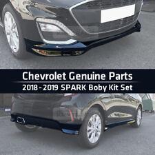 OEM Genuine Parts Front Rear Side Body Kit Set Black For Chevrolet 2018-19 Spark