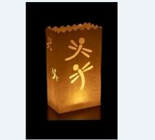 10 Dragonfly Candle Paper Bag Lantern Garden Party Outdoor Luminaries