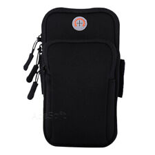 Universal Sport Running Riding Arm Band Case For Cell Phone Holder Zipper Bag